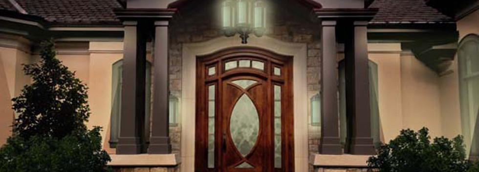 covered entryway Italianate Estate _Ramsgard