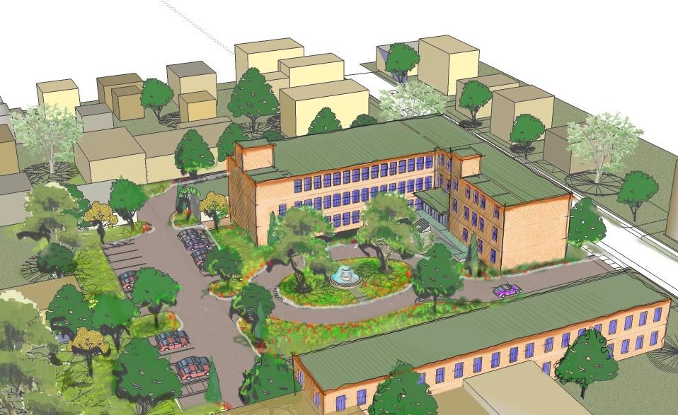 Site Plan Logan Park Lofts_Ramsgard