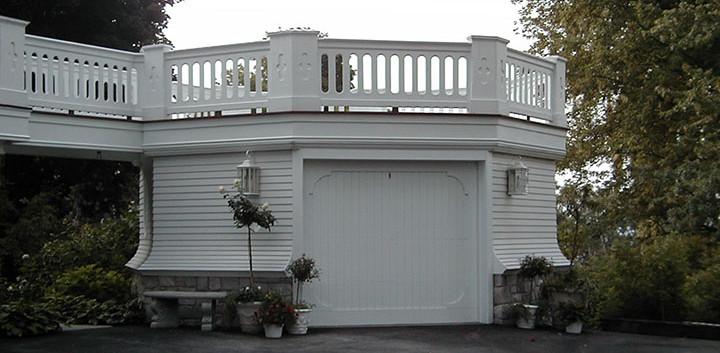Octagonal Garage Skaneateles Victorian_Ramsgard