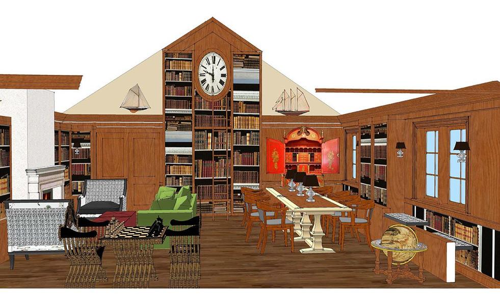 InteriorBinghamton Carnegie Library_Ramsgard