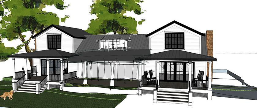 future addition lake side cottage skaneateles_Ramsgard