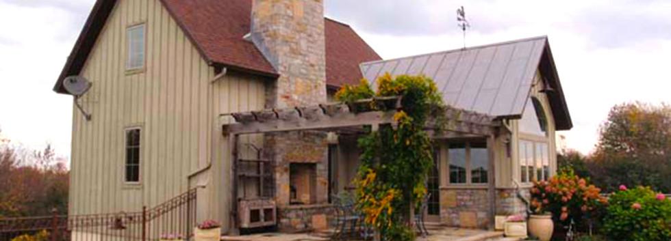 French Country Porch pergola Skaneateles_Ramsgard