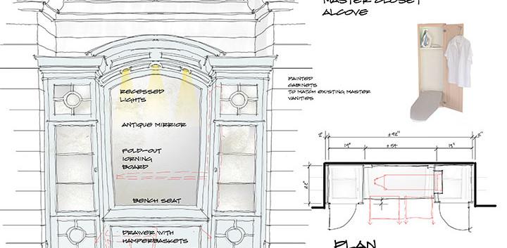Alcove Closet Cabinet Custom_Ramsgard