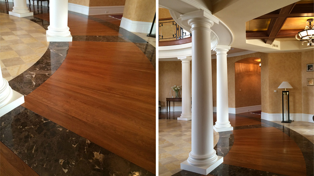 granite wood floor grand estate skaneatles _Ramsgard