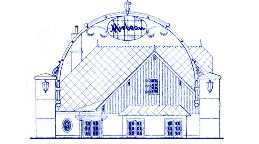 Entry Sketch Mirbeau Inn & Spa _Ramsgard
