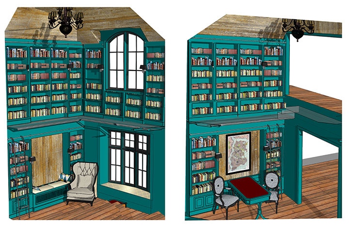 Library English Lakehouse_Ramsgard
