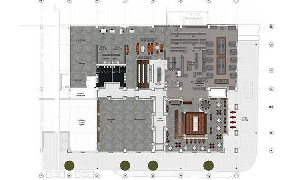 Floor plan Coltivare Culinary Center ithaca_Ramsgard