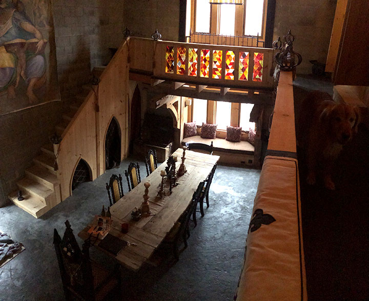 Great Hall Leary Castle _Ramsgard