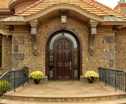 Front Entry  Snooks Hollow Retreat LEED Platinum_Ramsgard