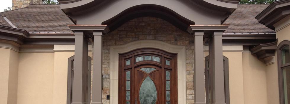 Entry Door Italianate Estate _Ramsgard