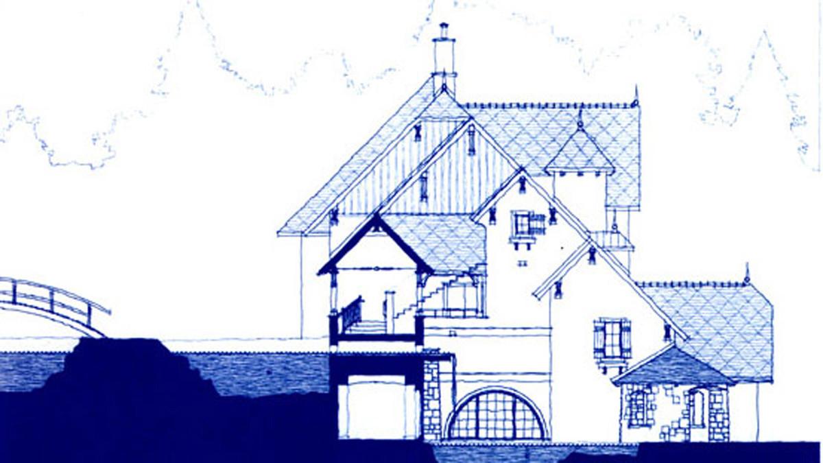 Elevation drawing Mirbeau Inn & Spa _Ramsgard