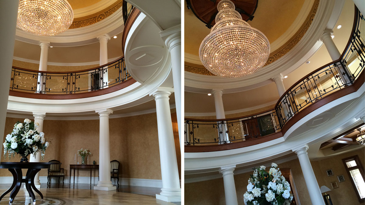 foyer grand estate skaneatles _Ramsgard