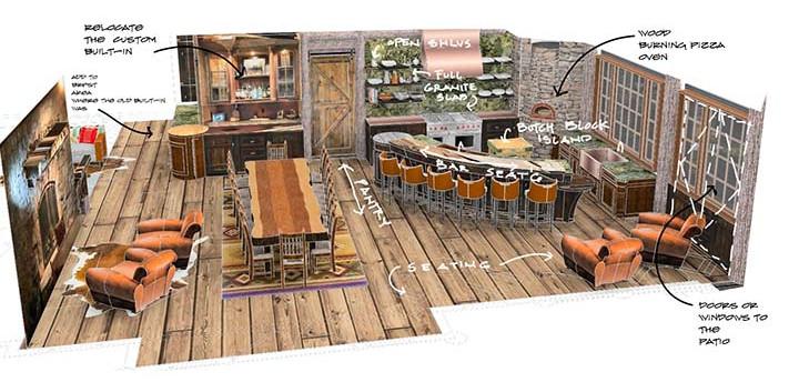 Kitchen concept sketch_Ramsgard
