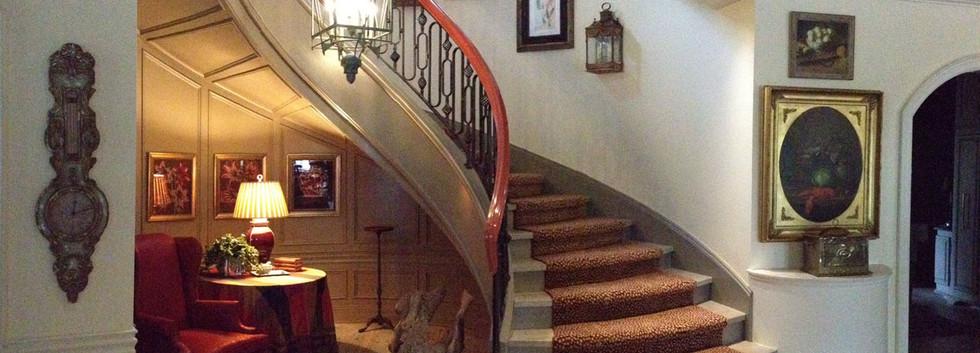 Staircase  Snooks Hollow Retreat LEED Platinum_Ramsgard
