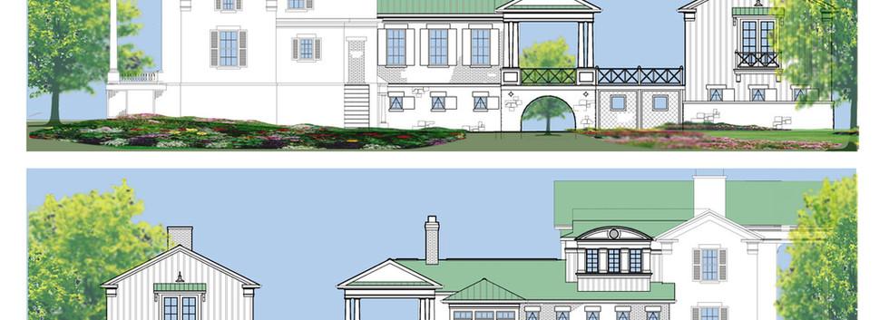 1833 William Fuller House Modern Greek R