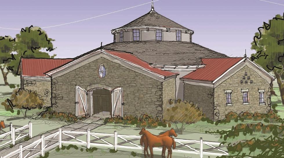 Equestrian Barn _Ramsgard