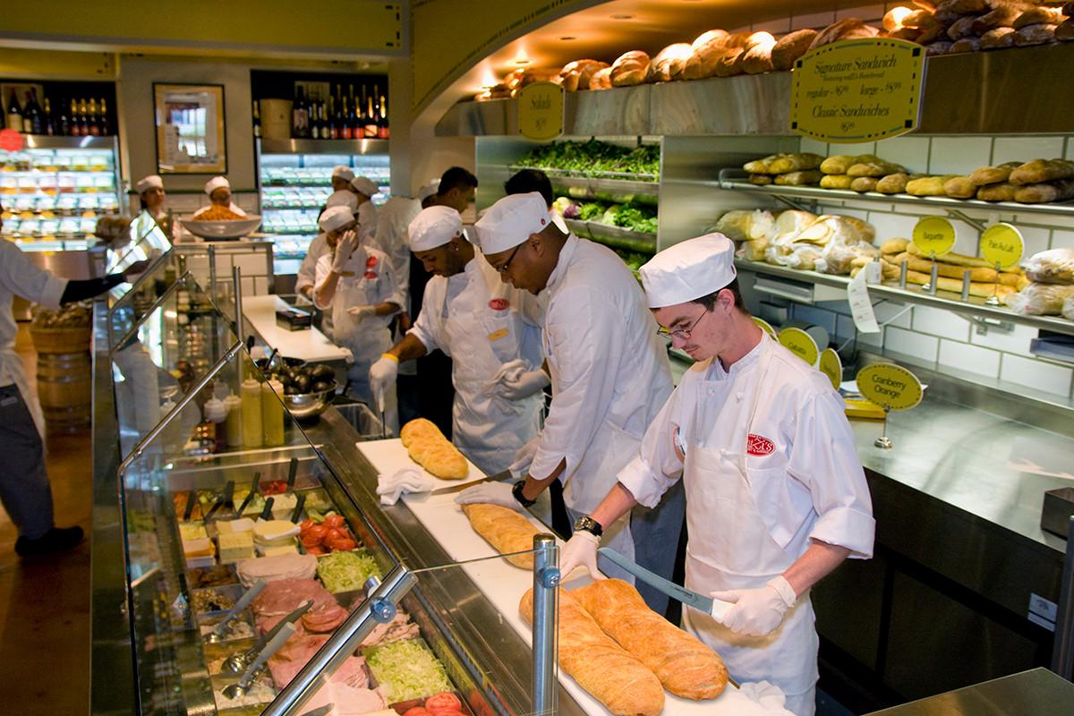 Baking Line Eatzi's Market Dallas_Ramsgard