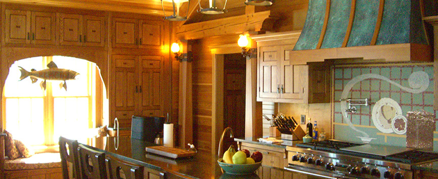 KitchenSkaneateles Boat house Arts & Crafts_Ramsgard