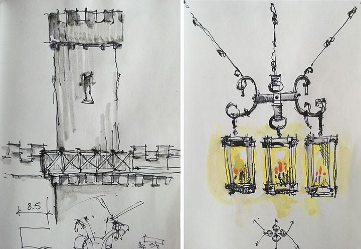 Sketch Turret- Light Leary Castle _Ramsgard
