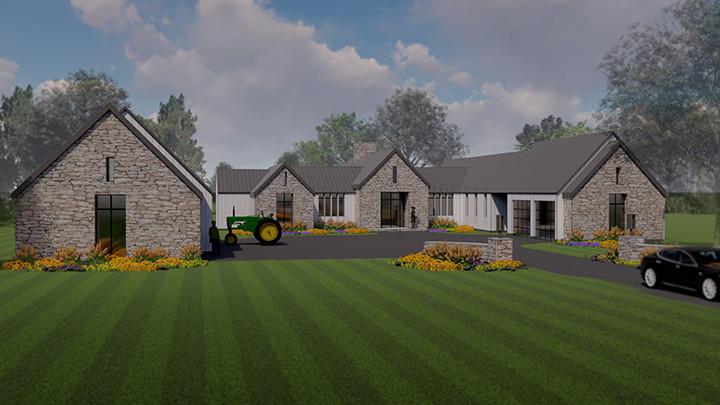 Ranch Farm ouse House_Ramsgard