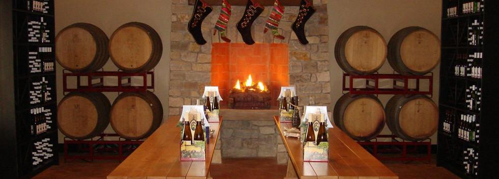 Fireplace Tasting Room Magnus Ridge Winery_Ramsgard