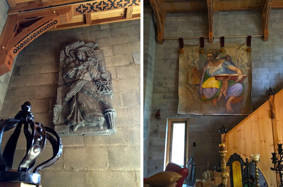 Truss & Wall Decor Leary Castle _Ramsgard