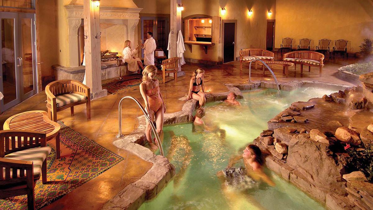 Aqua Terrace Mirbeau Inn & Spa _Ramsgard