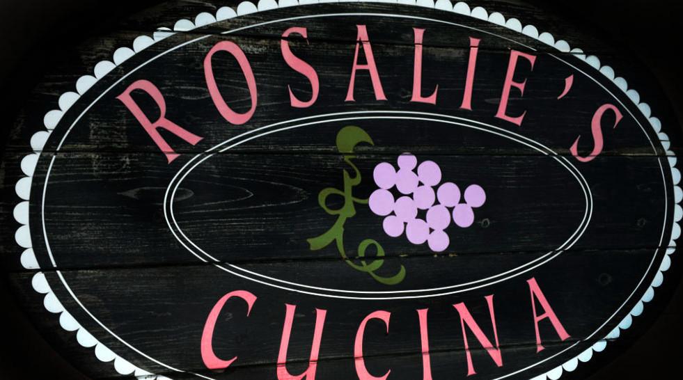 Sign Rosalie's Skaneateles_Ramsgard