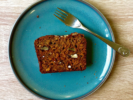 Gingerbread Courgette Loaf