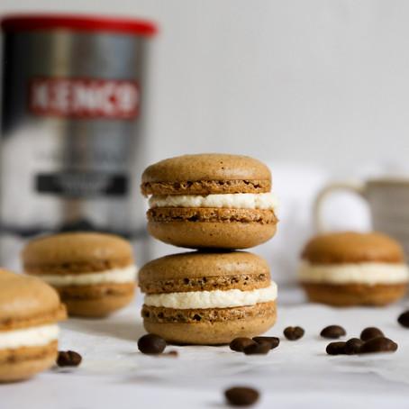 Boozy Coffee Macarons