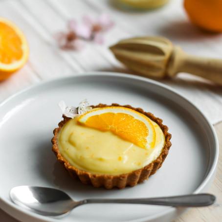 Orange Curd Tartlets