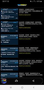 App MES PRONOS