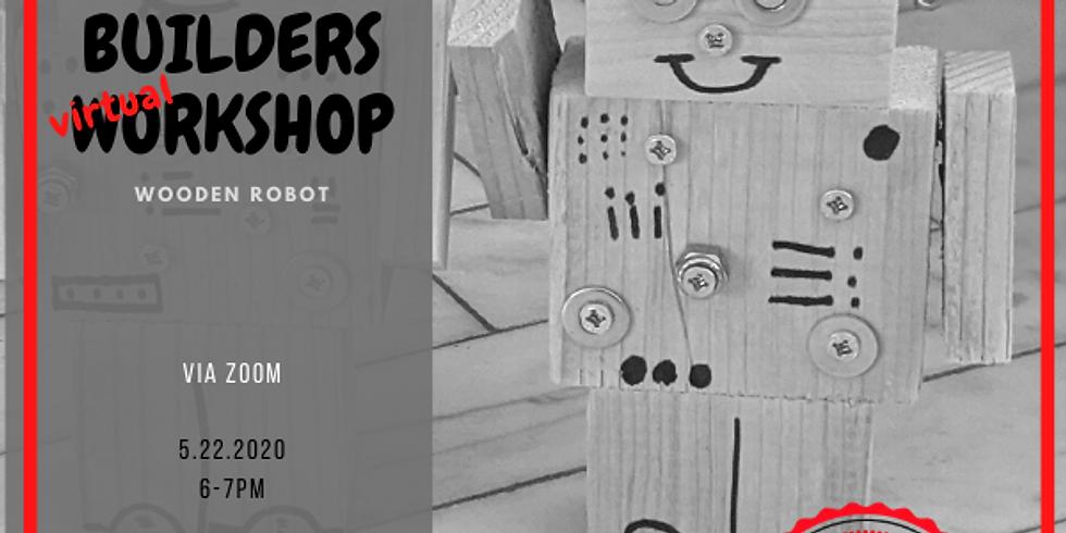 Little Builders Virtual Workshop- Wooden Robot