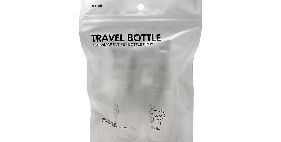 Botella De Spray Y Botella De Bomba 55Ml Ilahui Unisex
