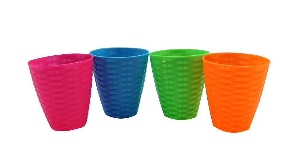 Pack De 4 Vasos One Dollar Unisex