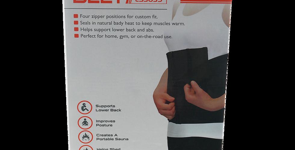 Cinturon Slim Con Cremallera