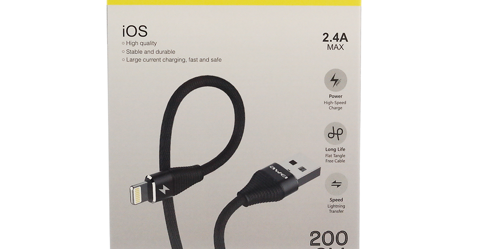 Cable Usb Lightning Awei