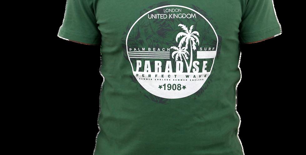 Camiseta De Caballero Paradise