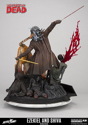 Ezekiel & Shiva Statue (The Walking Dead)