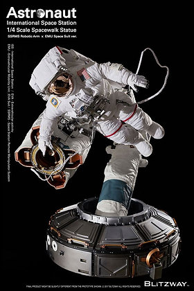 1/4 Scale ISS Spacewalk Astronaut