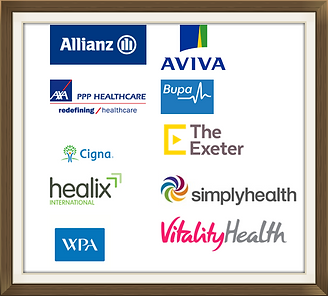 Insurance providers that recognise Dr Kuttikat, Consultant Rheumatologist, Cambridge & Kettering
