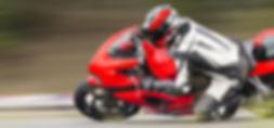Motorrad-Rennstrecke