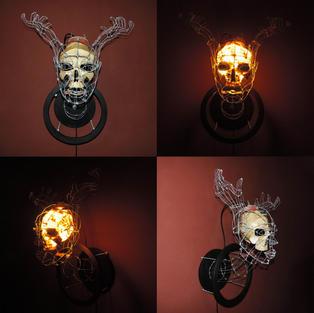 Head With Hand Antlers Lamp 07.jpg