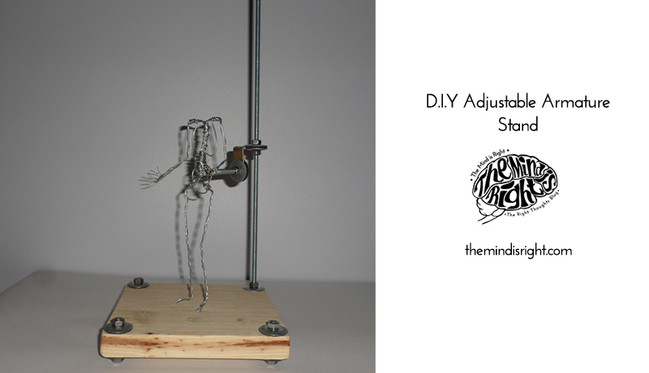 D.I.Y. Adjustable Armature Stand