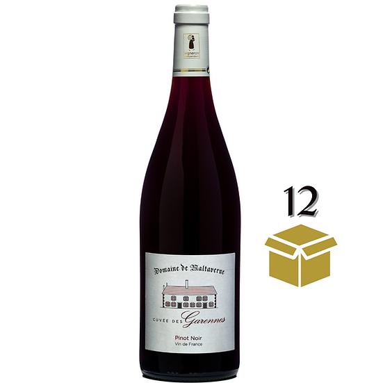 Pinot Noir - Cuvée des Garennes - 12 bouteilles 75cL