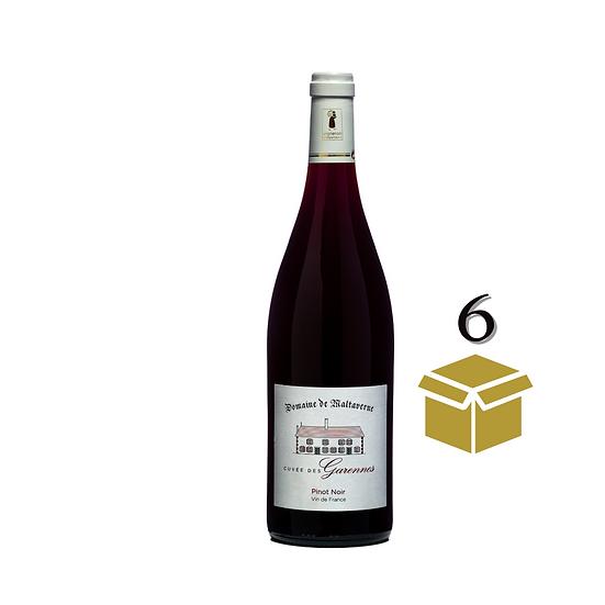 Pinot Noir - Cuvée des Garennes - 6 bouteilles 75cL