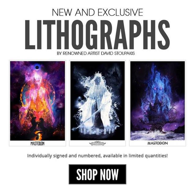 Mastodon Lithographs
