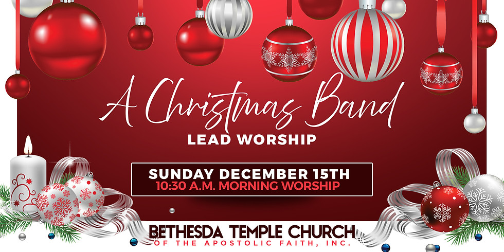 Christmas Band Lead Worship