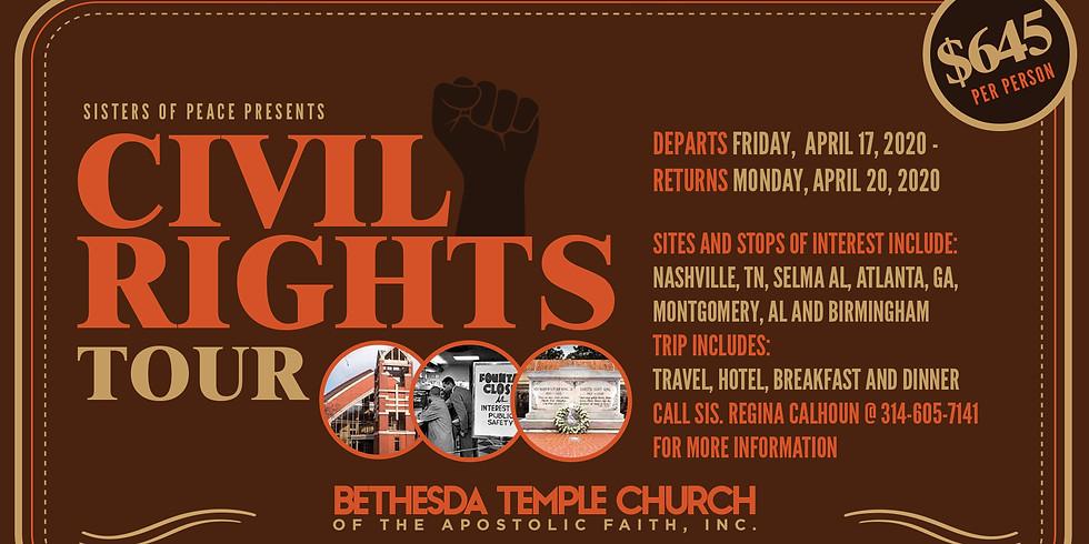CIVIL RIGHTS TOUR