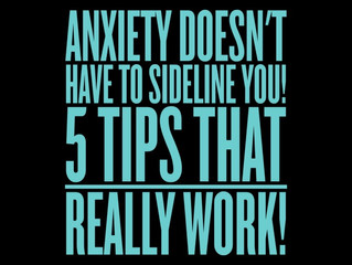 5 Anxiety Management Tips